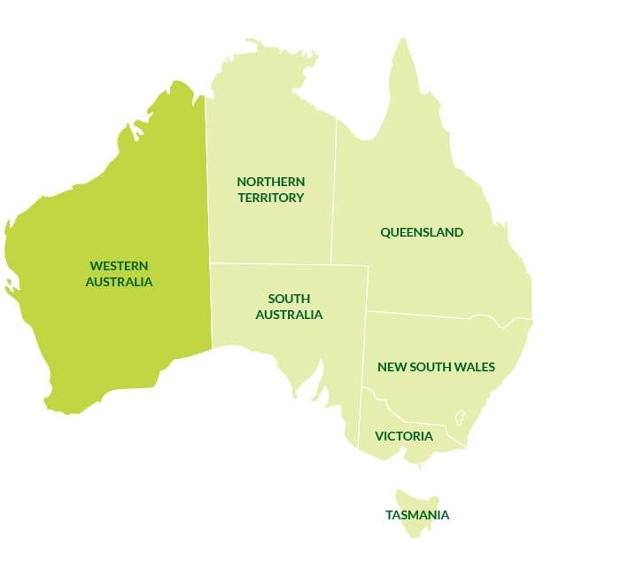 Western Australia Citrus Australia - Printable map of western australia
