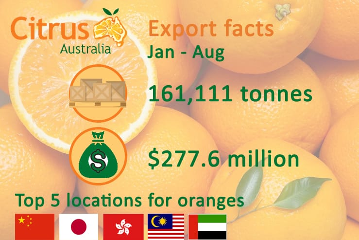 Citrus export facts